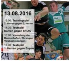 Saisoneröfnung der Handballer 2016/2017