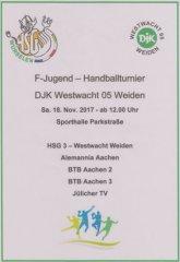 Einladung zum F-Jugend-Turnier in Weiden