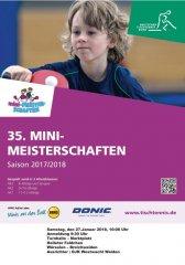 Mini-Meisterschaften 2018 in Broichweiden